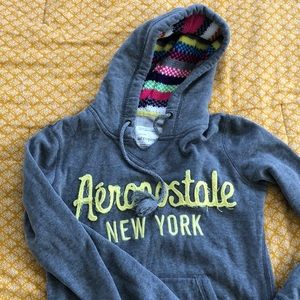 Aeropostale Grey Sweater